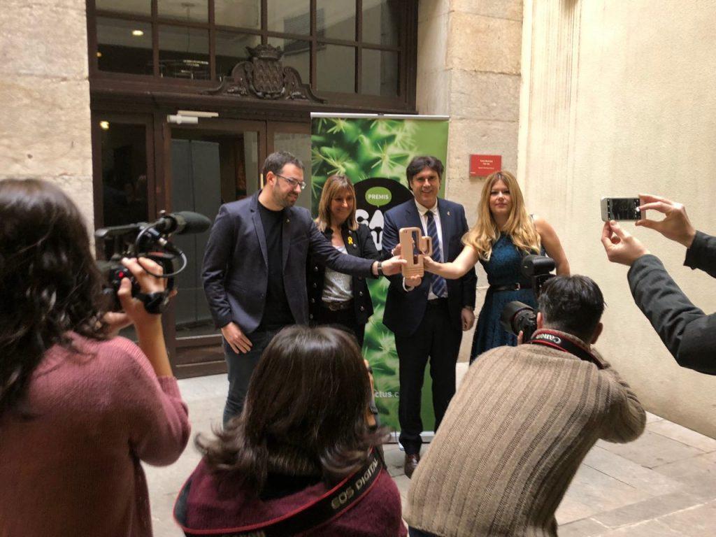 Presentació premis cactus 2018
